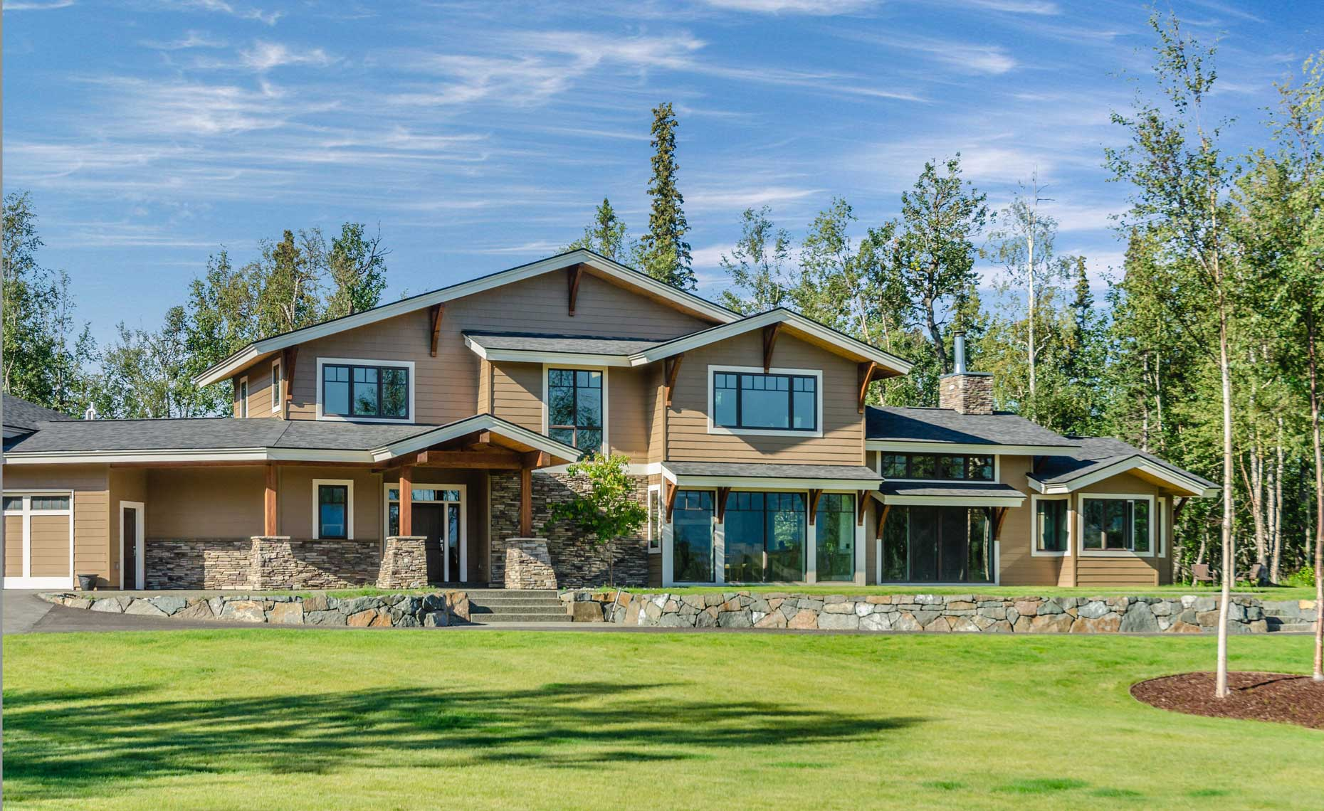 Contemporary Craftsman Alaska