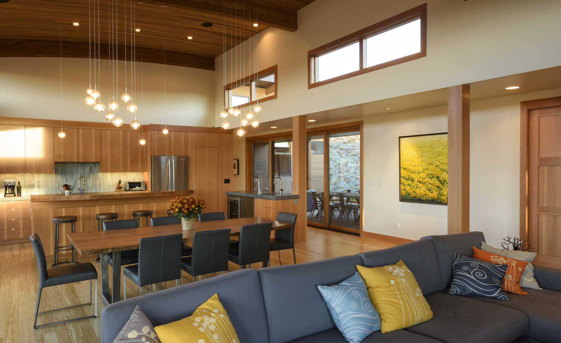 Modern Home Bend Oregon open plan
