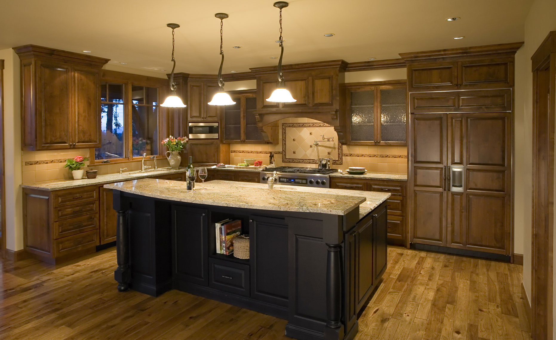 Modern-craftsman-kitchen